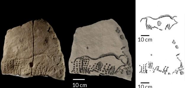 Fransa'da 38.000 yıllık kaya sanatı örneği